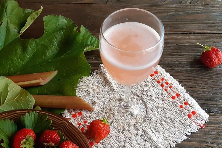 Вино ревеня. 2 рецепта: обычное и игристое. Вкусный результат практически из ничего