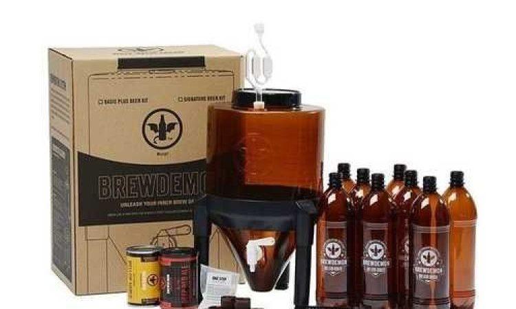 Приготовление пива в мини пивоварне Brew Demon
