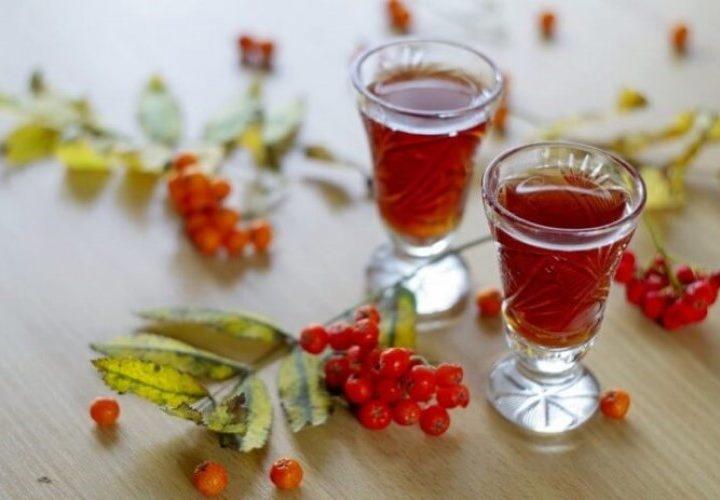 Рябиновый спотыкач, классический рецепт в домашних условиях