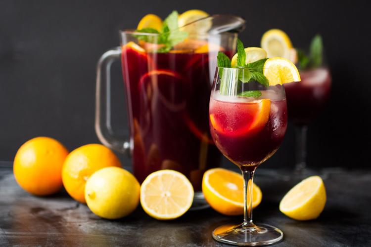 Сангрия. Простой рецепт испанского напитка